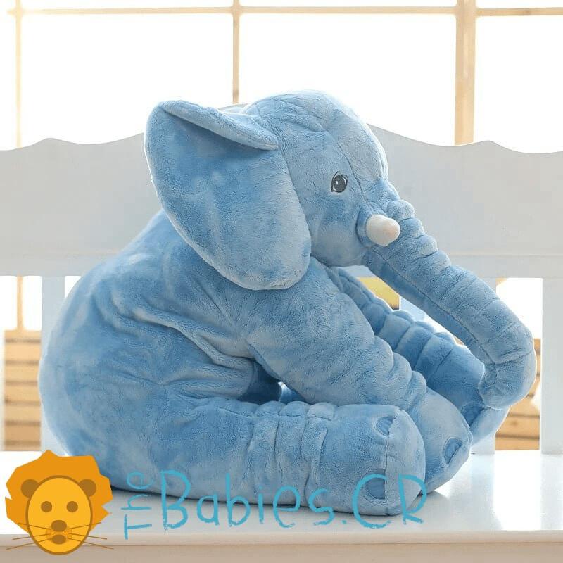 Almohada de Elefante Celeste para Bebé Image