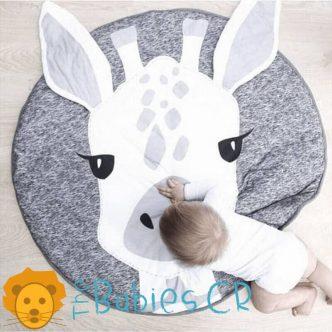 alfombra de jirafa para bebé