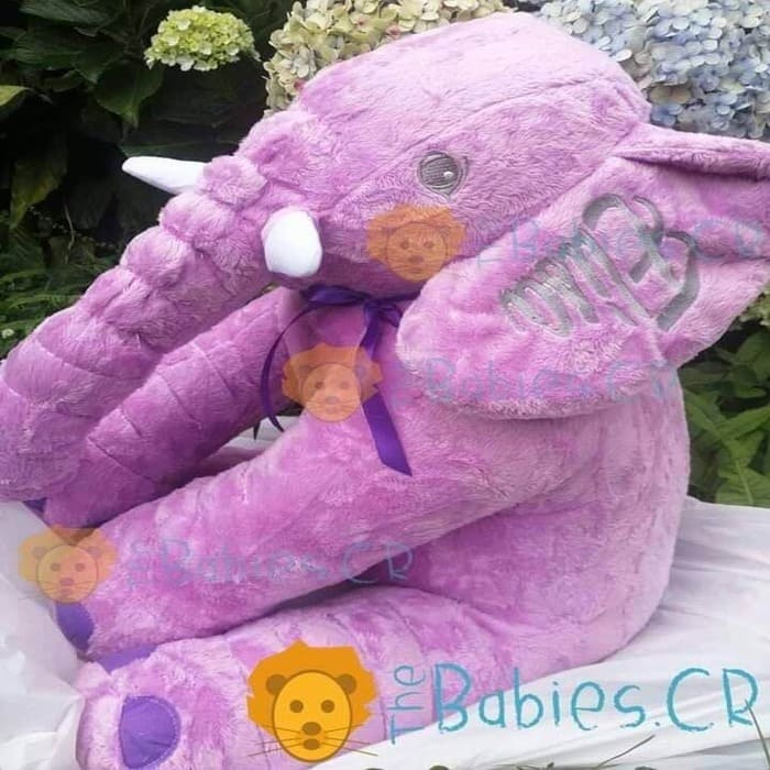 Elefante Personalizado Morado