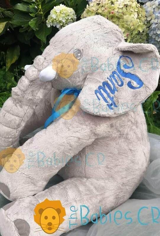 ElefantePersonalizadoGris